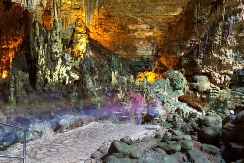 grotte Italie de castellana photographie stock