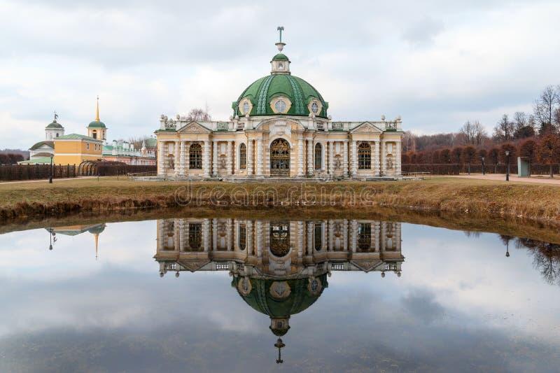 Grotte, musée - XVIIIème siècle de Kuskovo de domaine Moscou, Russie photos libres de droits