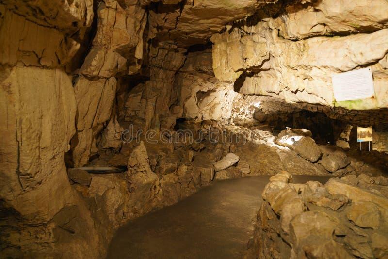 Grottes в Швейцарии стоковое изображение rf