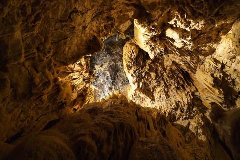 Grottes в Швейцарии стоковое фото