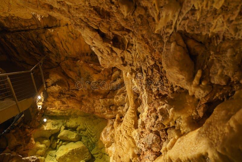 Grottes в Швейцарии стоковая фотография rf