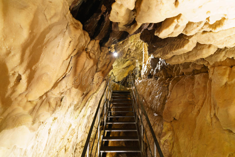 Grottes в Швейцарии стоковые изображения rf