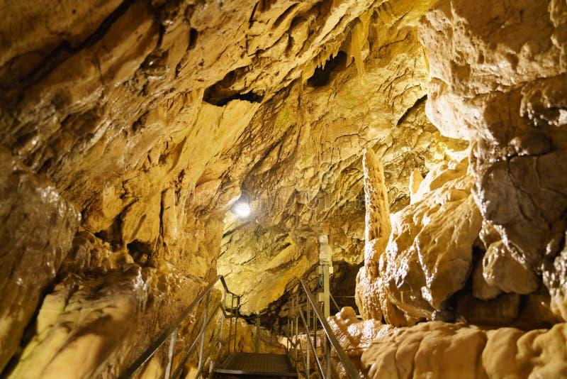 Grottes в Швейцарии стоковое изображение