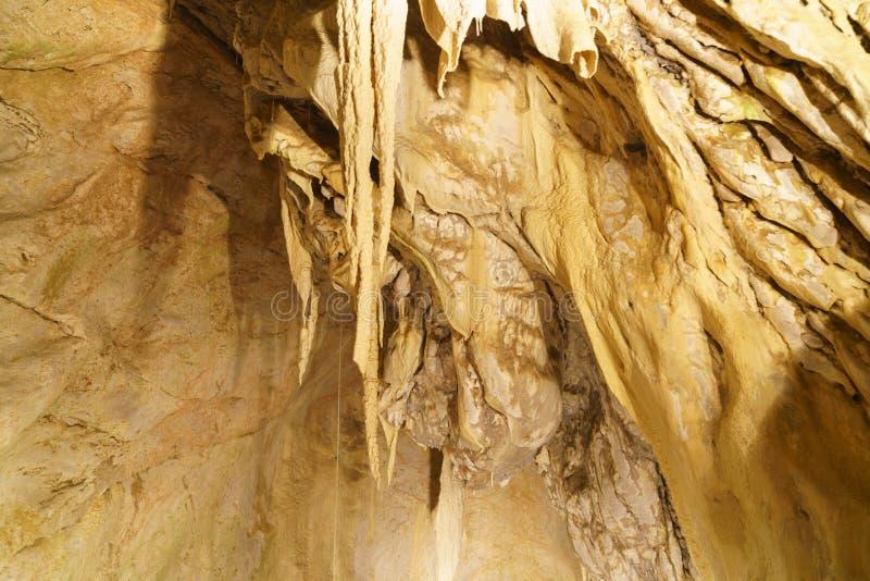 grottes Vallorbe стоковое изображение