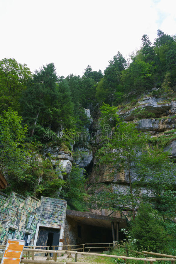 grottes Vallorbe стоковая фотография rf