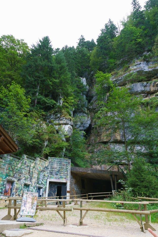 grottes Vallorbe стоковое фото rf