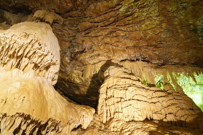 grottes van Vallorbe royalty-vrije stock foto