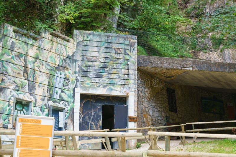 grottes van Vallorbe royalty-vrije stock fotografie