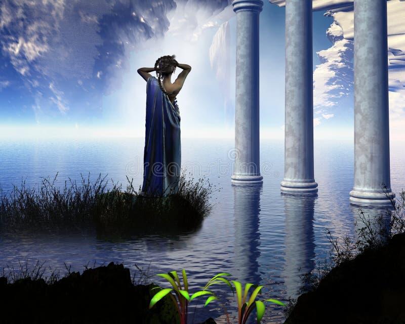 Grotto Афродиты бесплатная иллюстрация
