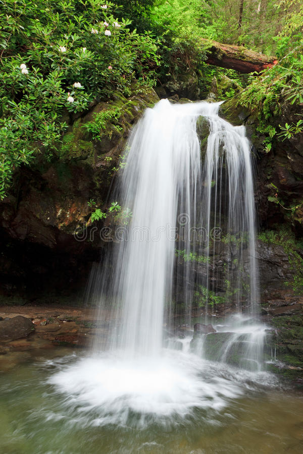 Free Grotto Falls Royalty Free Stock Photos - 21945348