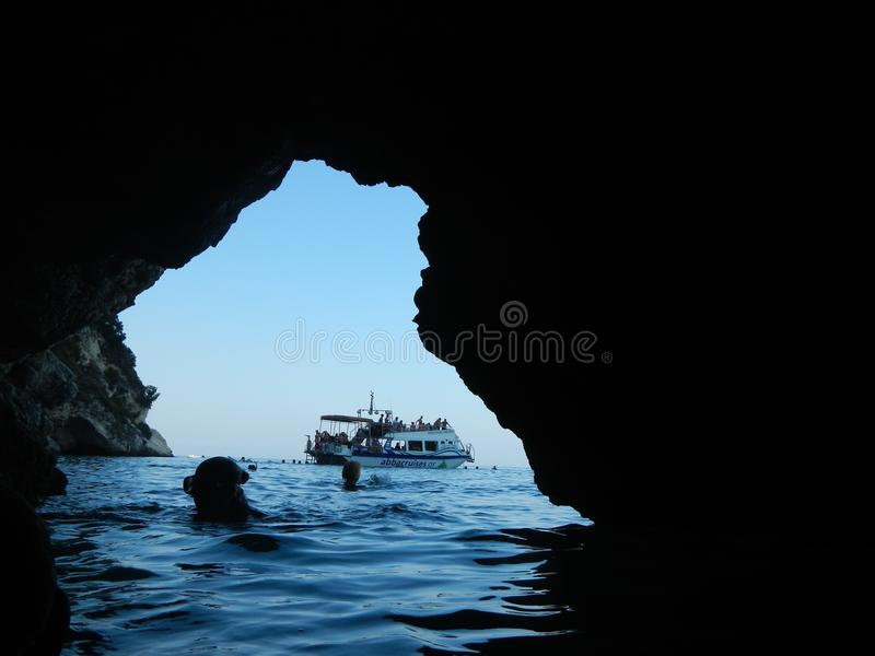 Grotto royalty free stock photo