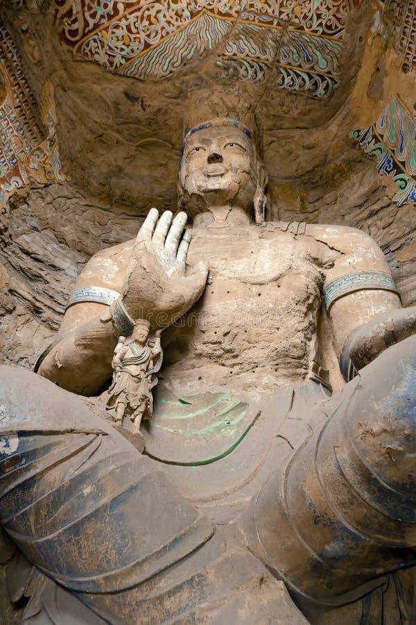 Grottoes de Buddha foto de stock royalty free