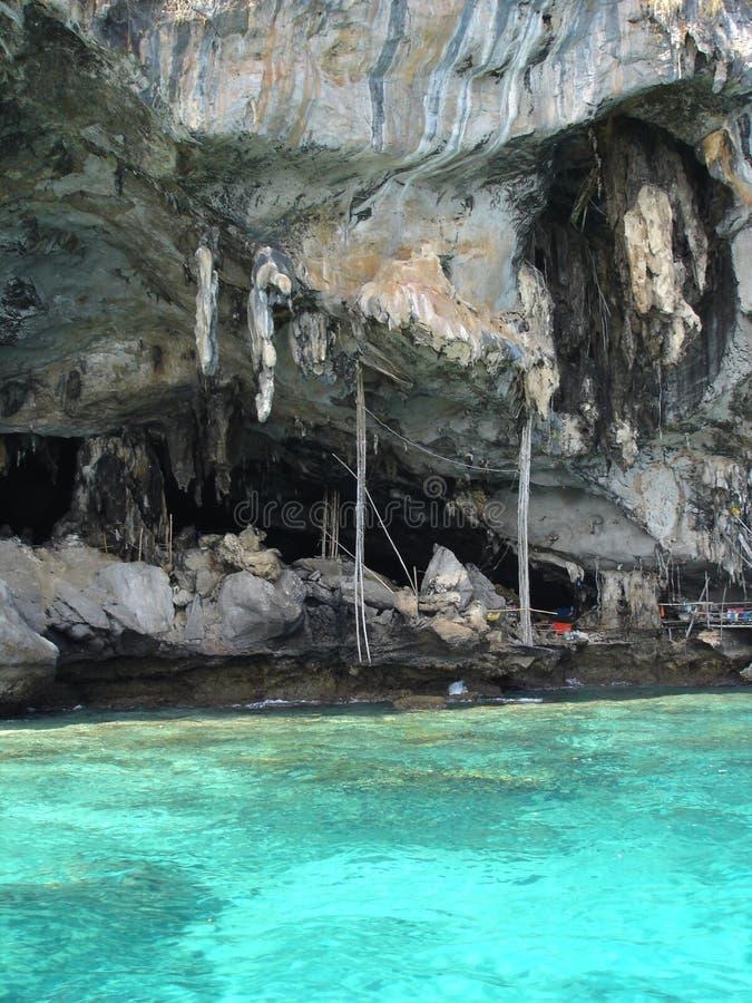 Grottor Thailand Arkivbild