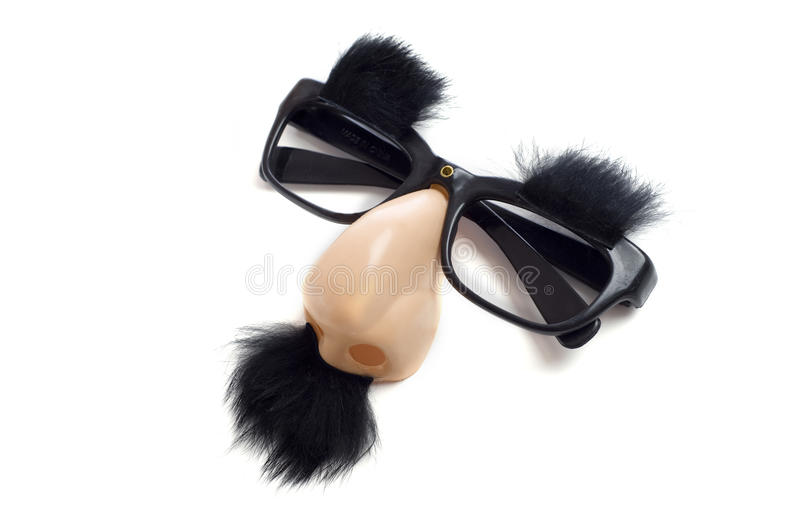 Groucho Glasses - Funny Glasses stock images