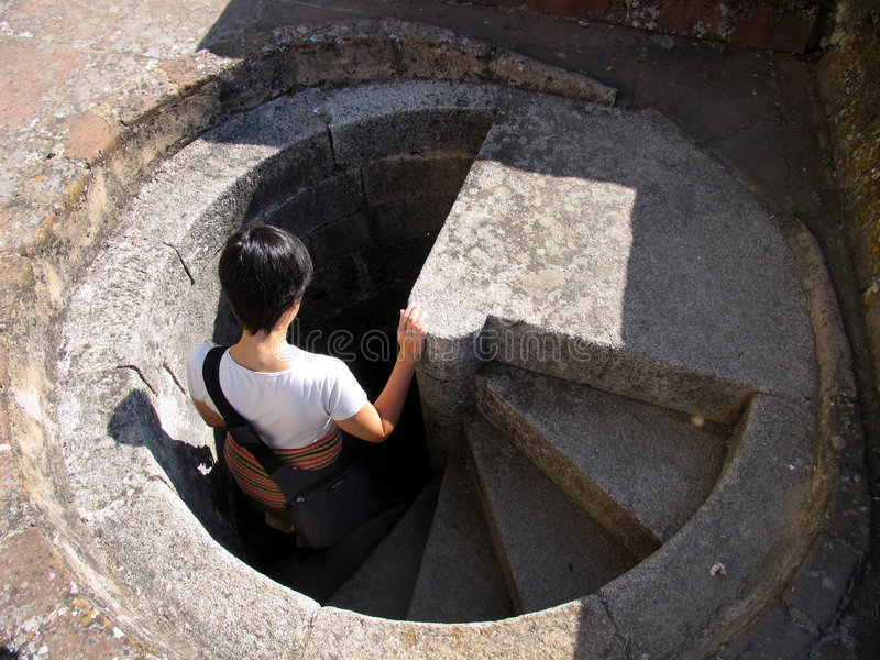 Download Into the ground stock photo. Image of spiral, disappearing - 1264776