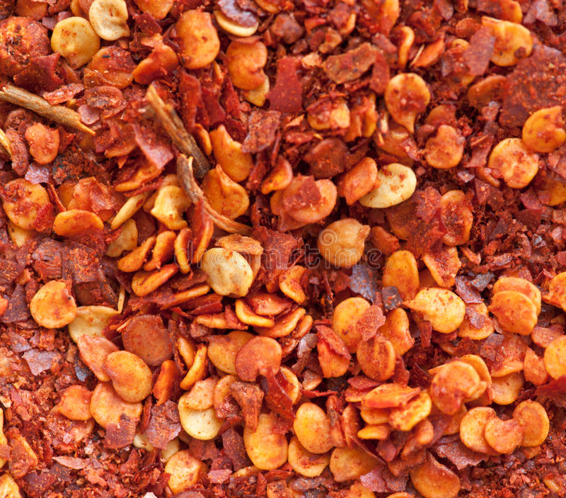 Ground chili powder royalty free stock images