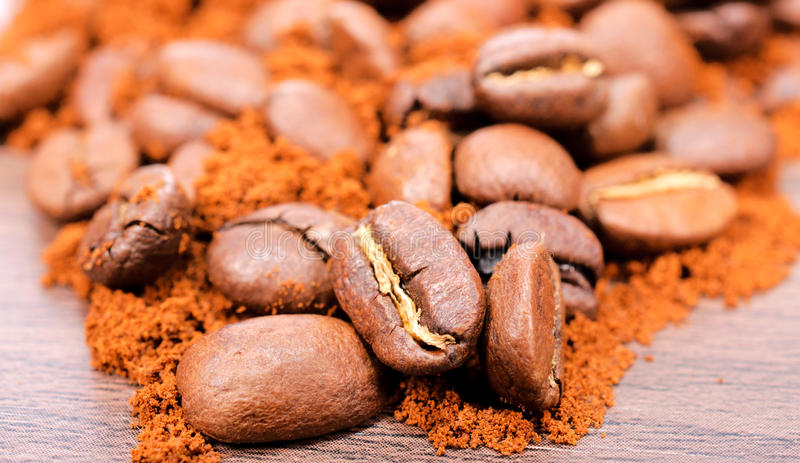 Download Ground coffee stock image. Image of setting, taste, energy - 27957271