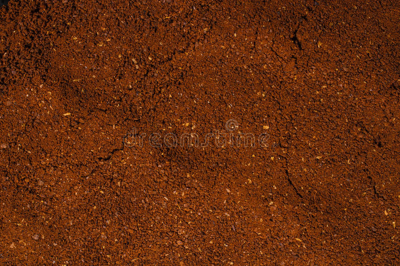 Ground coffee powder background cocoa scoop. Ground coffee powder background cocoa powder background coffee scoop stock photo