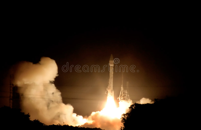Ground Control ..We have a Liftoff!!! stock image