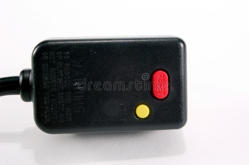 Download Ground Fault Plug stock photo. Image of ground, buttons - 33282