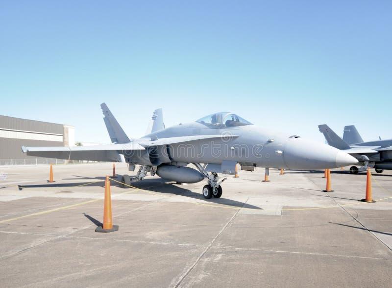 ground jetfighter стоковое изображение