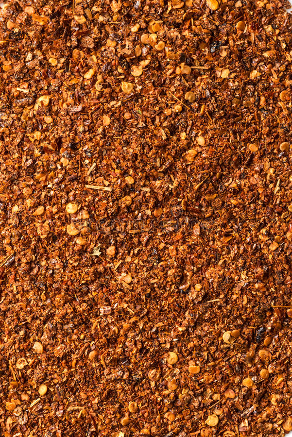 Ground pepper. Grouped together to form a background stock image