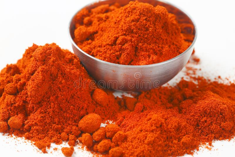 Ground Red Pepper stock image
