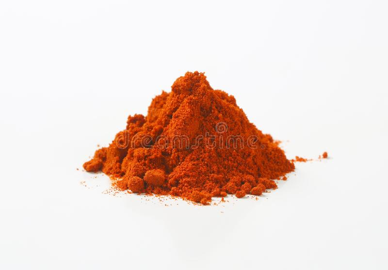 Ground Red Pepper royalty free stock image