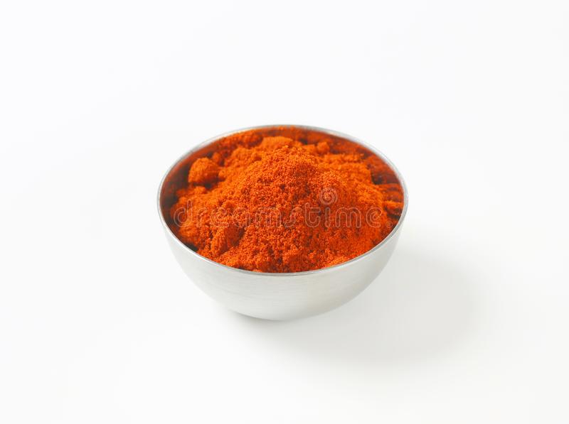 Ground Red Pepper stock images