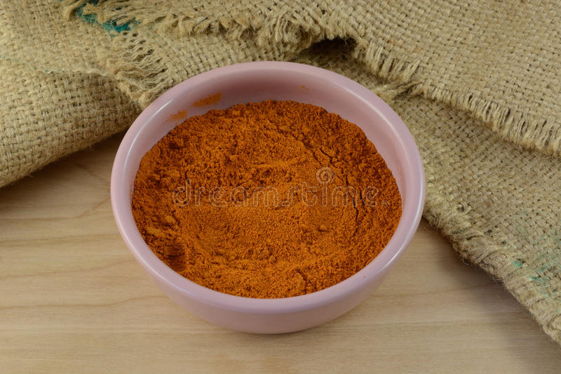 Ground red pepper spice stock photos