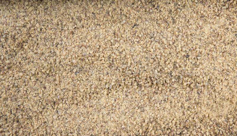 Ground white pepper background. Natural seasoning texture.  stock image