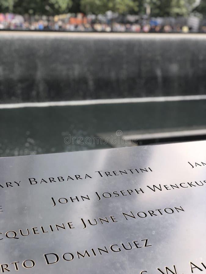Ground zero arkivfoton
