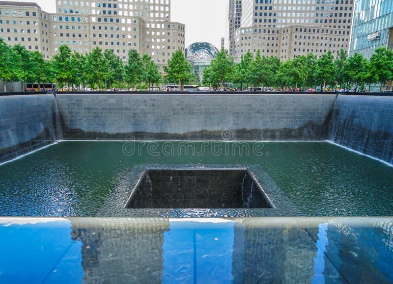 Ground Zero. Shooting location :  Manhattan, New York royalty free stock photography