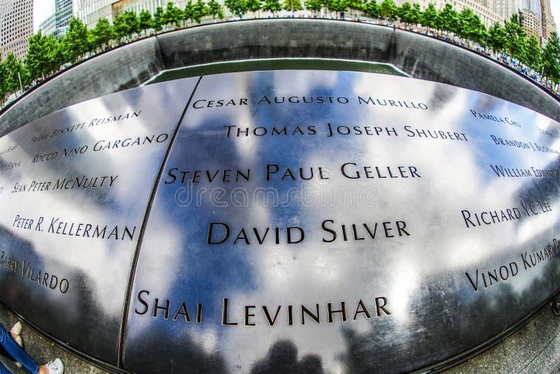 Ground Zero. Shooting location :  Manhattan, New York royalty free stock image