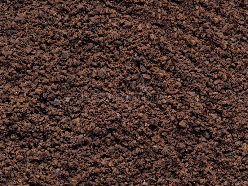 Grounded coffee bean food background royalty free stock photos