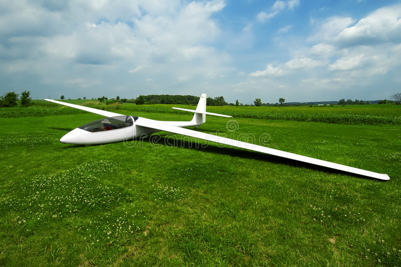 Download Grounded Glider stock image. Image of plane, glider, glide - 99929