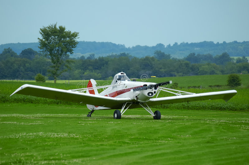 Download Grounded Plane stock image. Image of land, green, pawnee - 109323