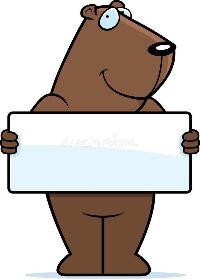 Download Groundhog Sign stock vector. Image of illustration, holding - 11988433