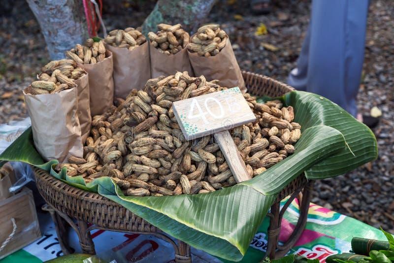 Groundnut. For sale in fresh maket stock photo