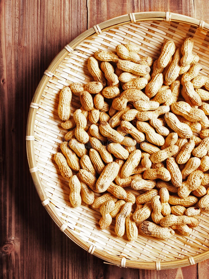 Download Groundnuts stock photo. Image of baked, organic, closeup - 17383036