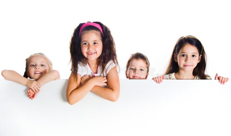 Grouop Of Smily Kids Stock Photo