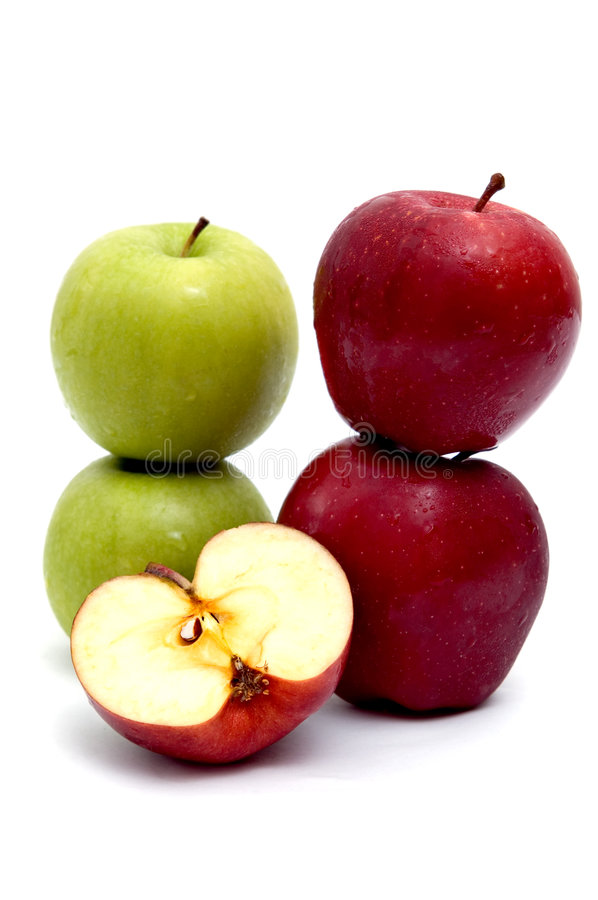 Group of apple stock photo