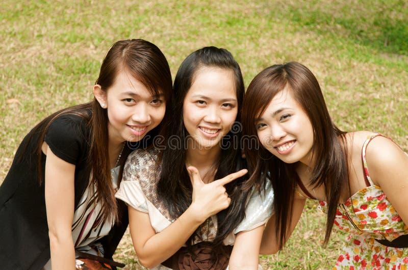 Download Group of Asian Girl stock image. Image of beautiful, saigon - 22500615