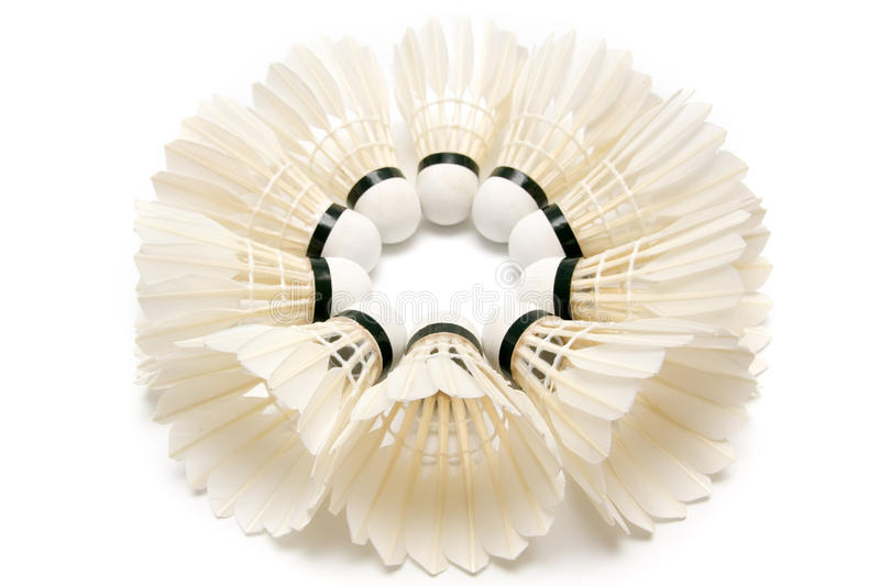 Download Group Of  Badminton Shuttlecocks Stock Image - Image of sports, objects: 16284785