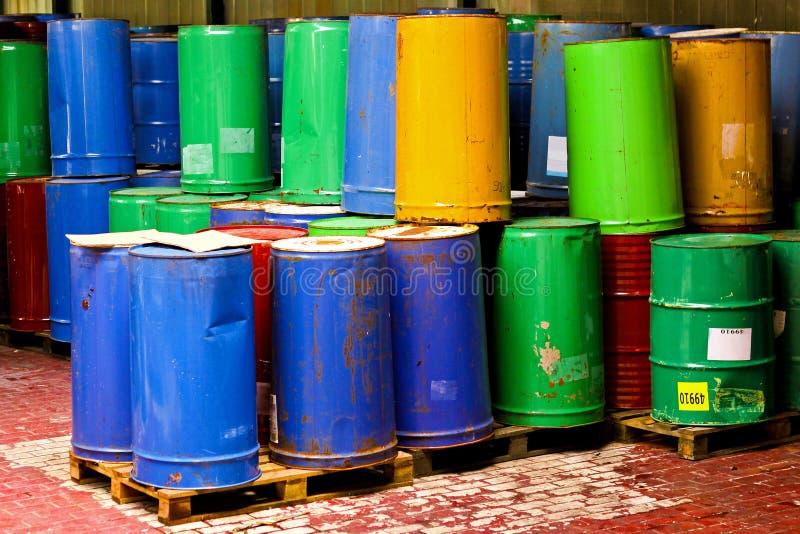 Group of barrels