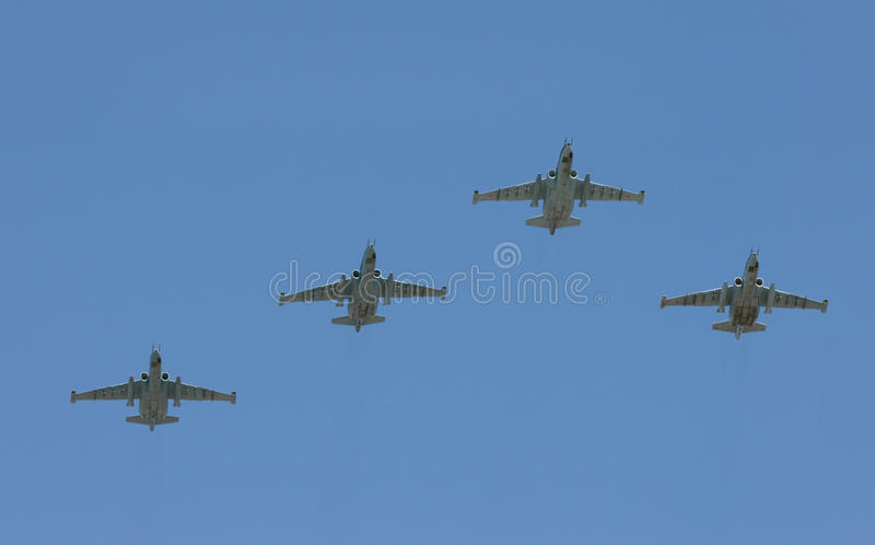 Group of battle-planes
