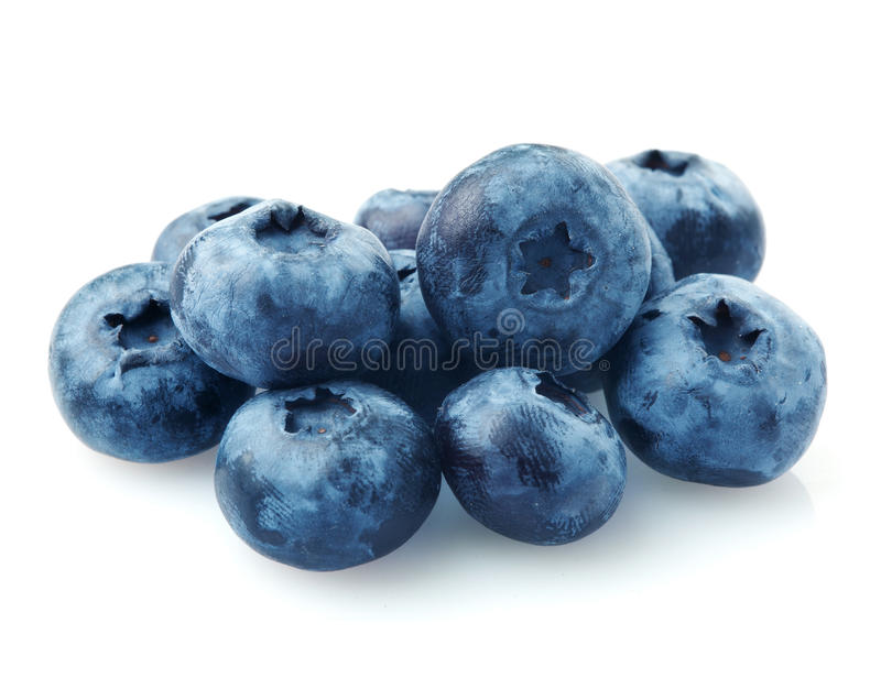Download Group of blueberries stock photo. Image of whole, white - 15689072