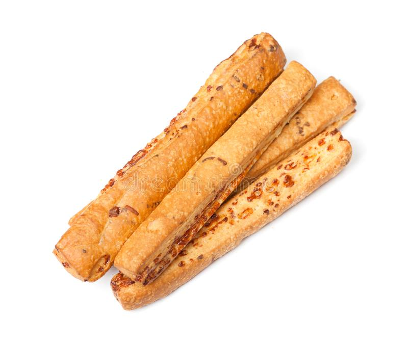 Group of bread sticks royalty free stock images