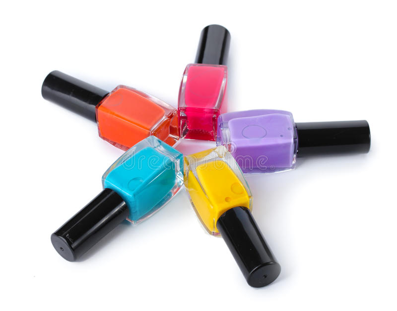 Download Group Of Bright Nail Polishes Stock Photo - Image: 24648872