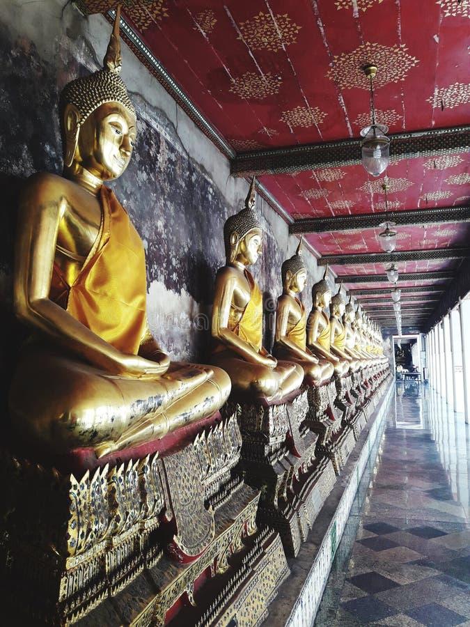 Group of Buddha images in Thailand. Group buddha images thailand temple travel bangkok stock photography